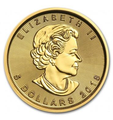 Canada Foglia d'Acero 5 Dollari (FIOR DI CONIO)