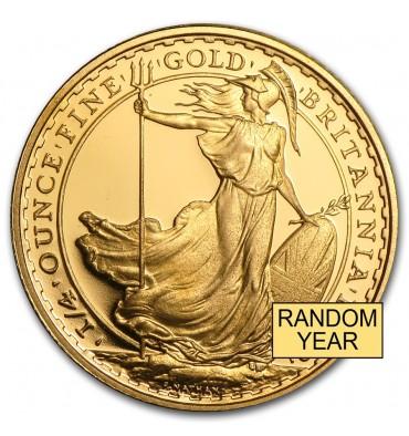 25 Sterline Britannia d'oro