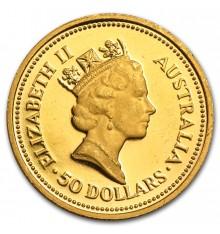 Australia Nugget 50 Dollari