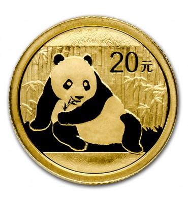 Cina Panda oro 1/20 oz | 1 grammo