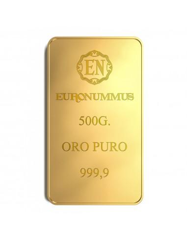 Lingotto oro puro EN 500 grammi