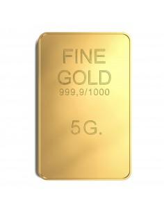 Lingotto oro FINE GOLD 5 grammi