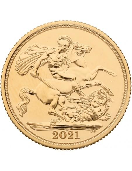 Sterlina oro 2021 (FIOR DI CONIO)