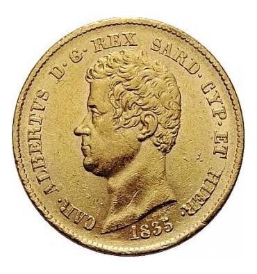 Marengo 20 Lire Carlo Alberto (Italia)