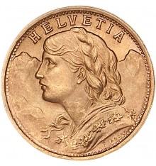 Marengo 20 Franchi Vreneli (Svizzera)