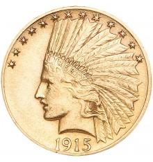 10 Dollari Testa Indiano