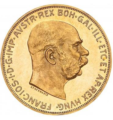 Austria 10 Corone oro